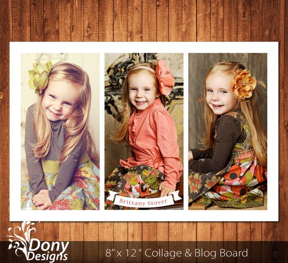 buy 1 get 1 free blog board collage template sized 8x12 inches