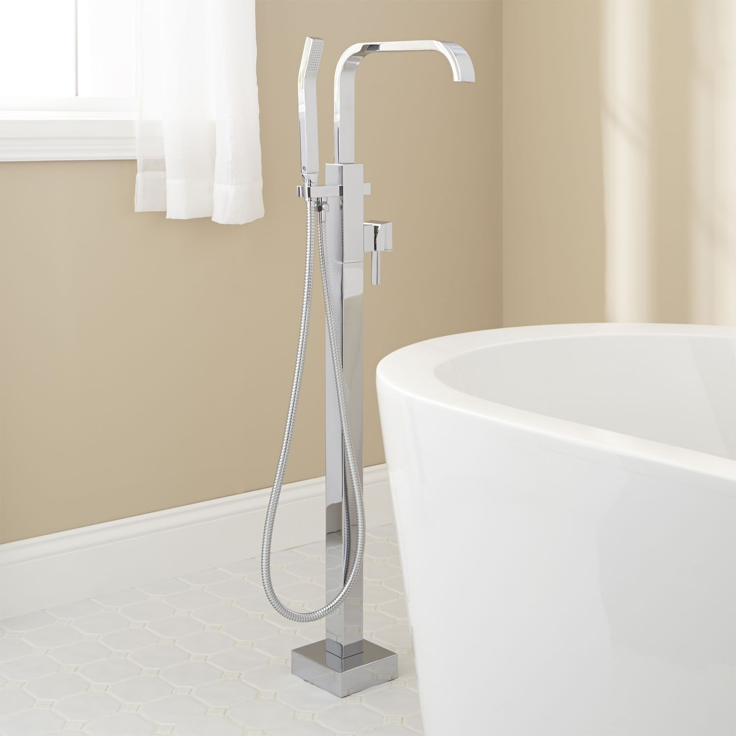 Ersa Freestanding Tub Faucet Tub Faucets Bathroom With Images