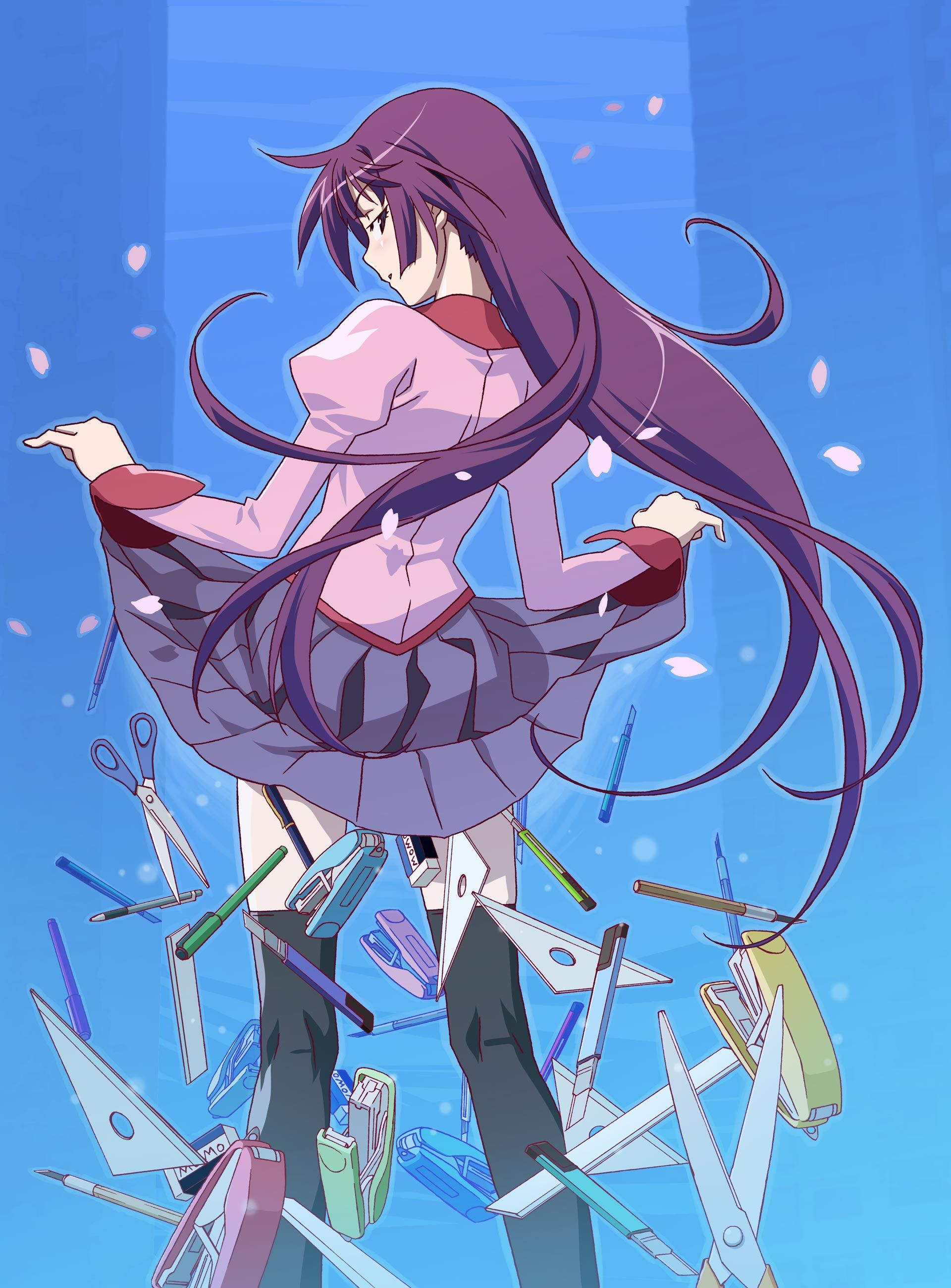Bakemonogatari high school students me me me anime viera manga anime anime