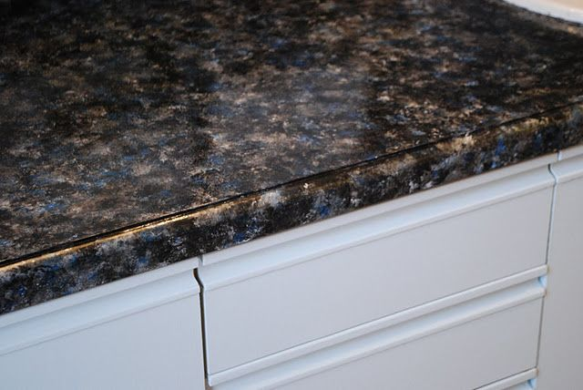 Tutorial How To Paint Bathroom Countertops To Look Like Faux