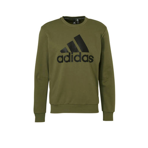 adidas performance sportsweater met printopdruk groen ...
