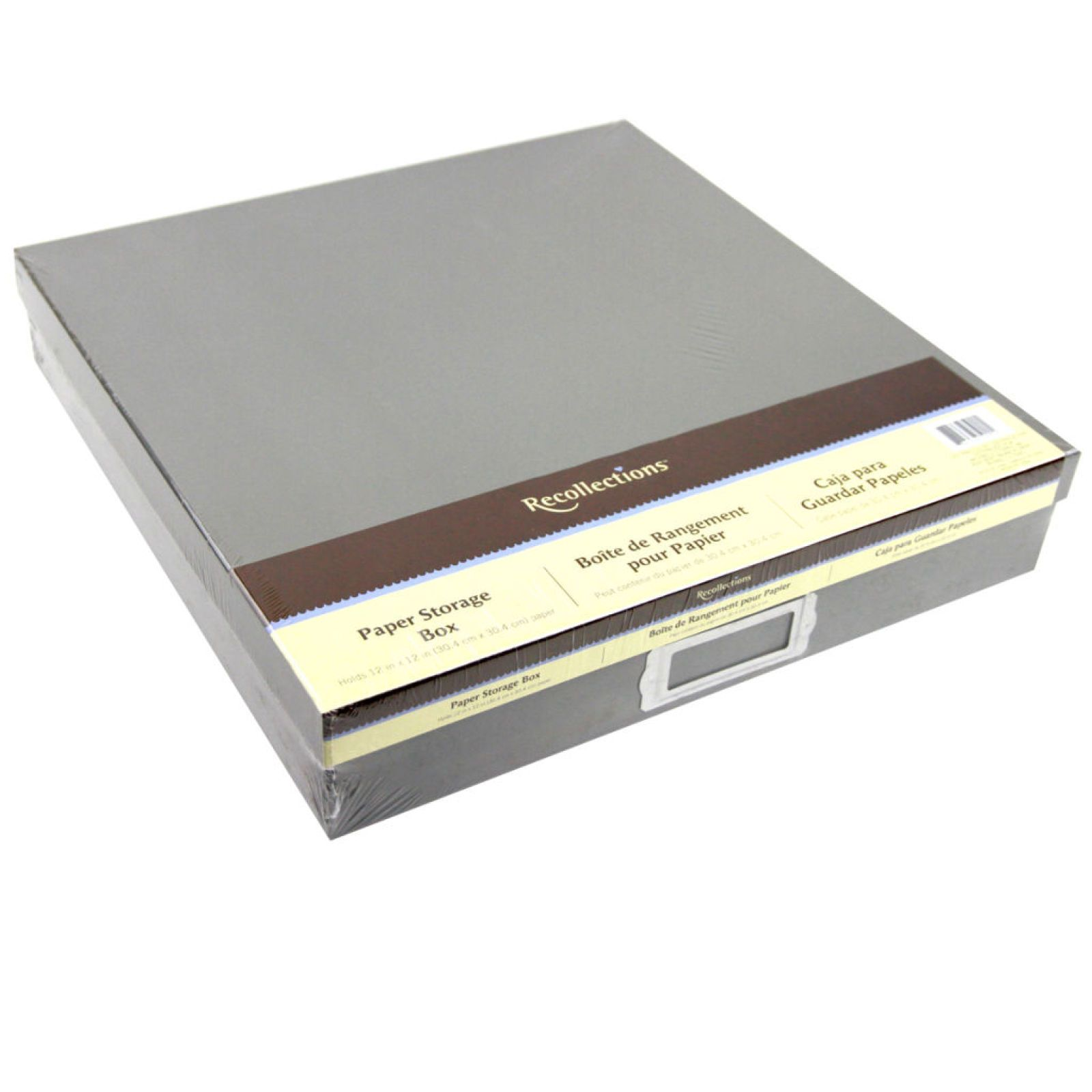 Recollections™ Paper Storage Box   Paper storage, Paper ...