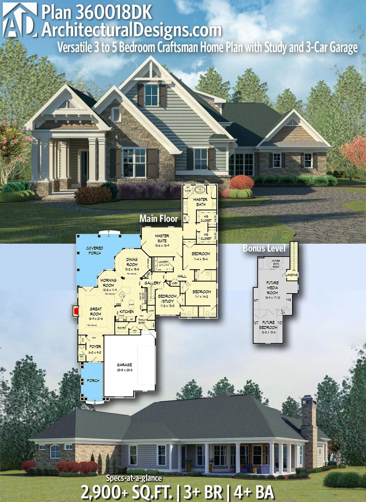 Architectural designs home plan dk gives you bedrooms baths and sq ft ready when are where do want to build also rh pinterest