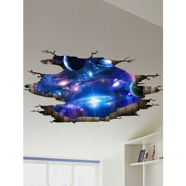 Decor Galaxy Planet Wall Stickers