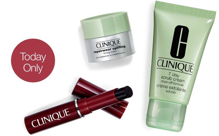 Clinique beauty boast kit free gwp offer clinique code