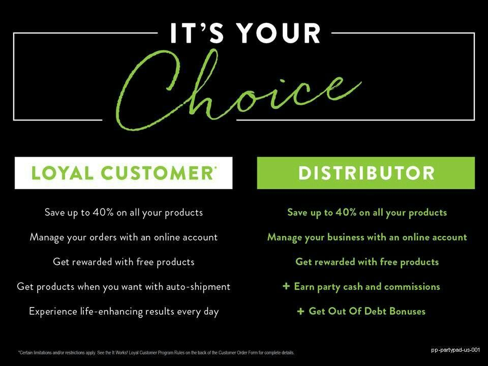 loyal customer it works
