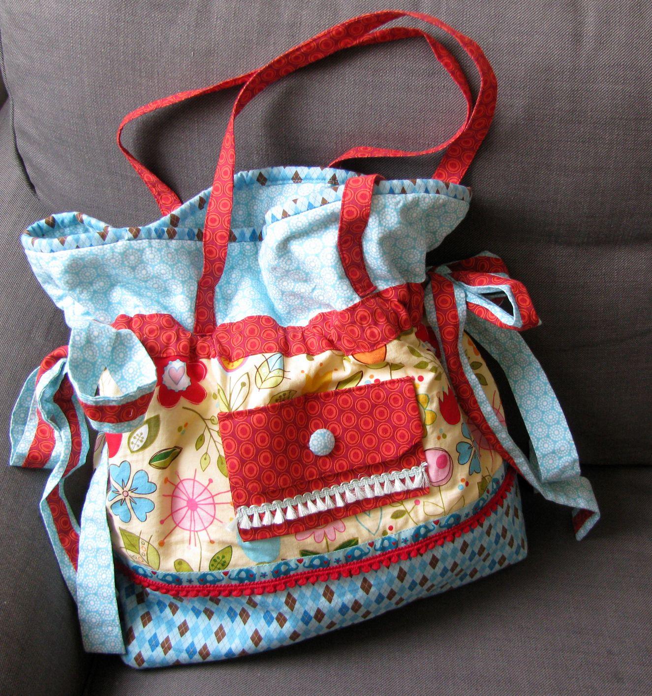 anleitung gro e strandtasche bei handmadekultur marja katz gen htes taschen taschen n hen. Black Bedroom Furniture Sets. Home Design Ideas