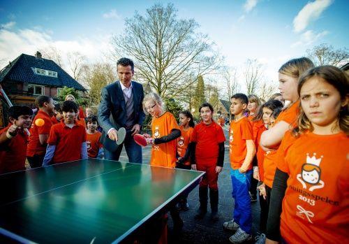 Gry Królewskie 2014 rozpoczęto grą w ping-ponga