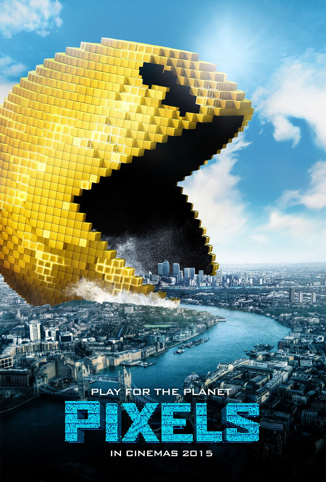 Pixels Pacman London Full Movies Online Full Movies
