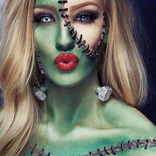Bride Of Frankenstein | COSTUMES | Pinterest | Frankenstein Costumes And Halloween Makeup