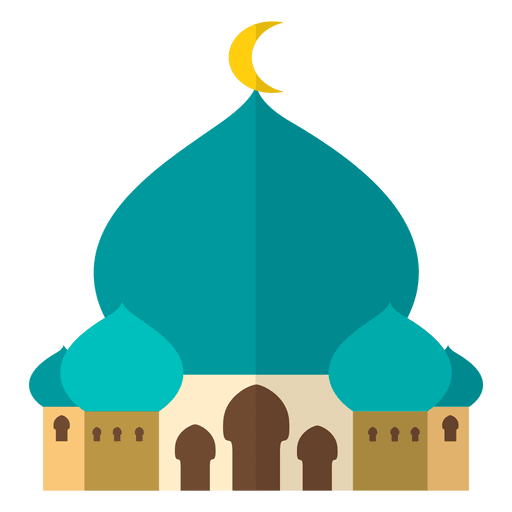 Vector Png Green Mosque For Ramadhan Kareem