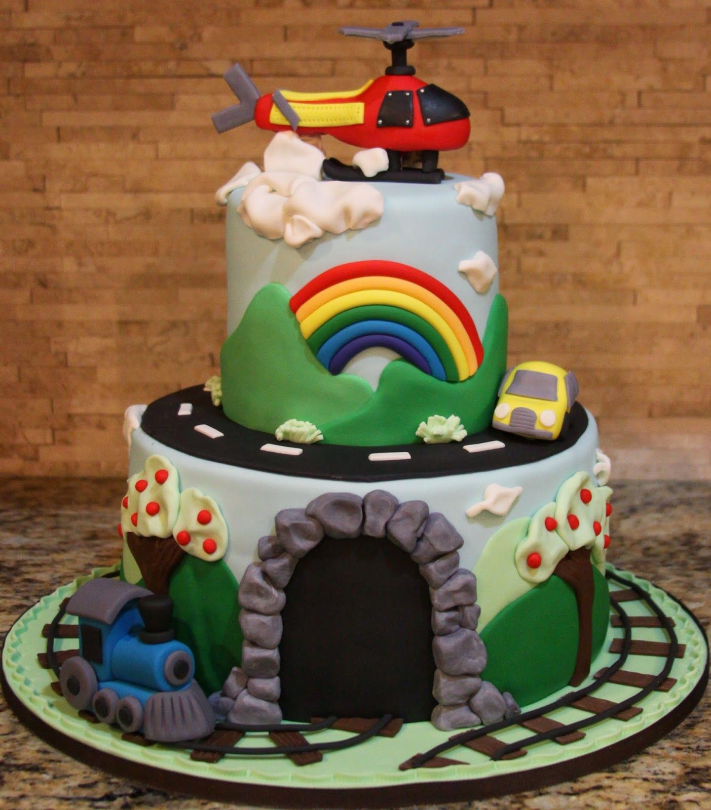 train birthday cakes for adults