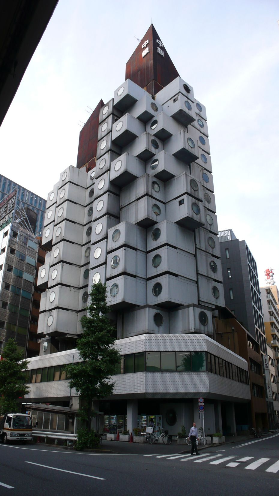 Nakagin Capsule Tower Architectural Architecture