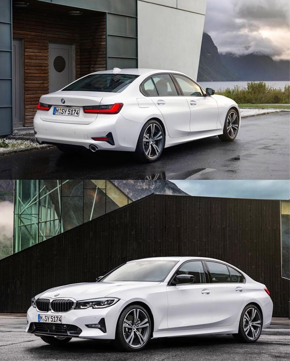 new bmw 3 series (g20) looks best in white