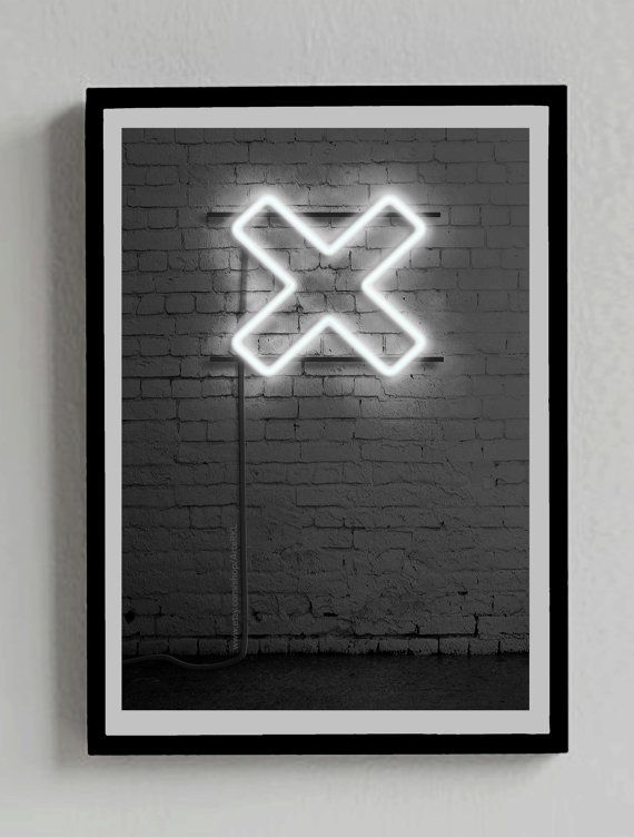The XX Neon sign Poster  You can get it at: https://www.etsy.com/es/listing/210668334/senal-de-neon-the-xx-poster-cruz?ref=shop_home_active_8