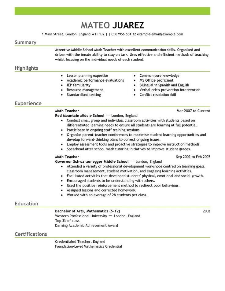 Read more tips for your RESUME on Tipsographic (resume - Cv Example