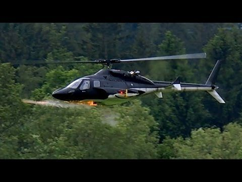 GIGANTIC RC BELL-222 AIRWOLF VARIO SCALE MODEL ELECTRIC
