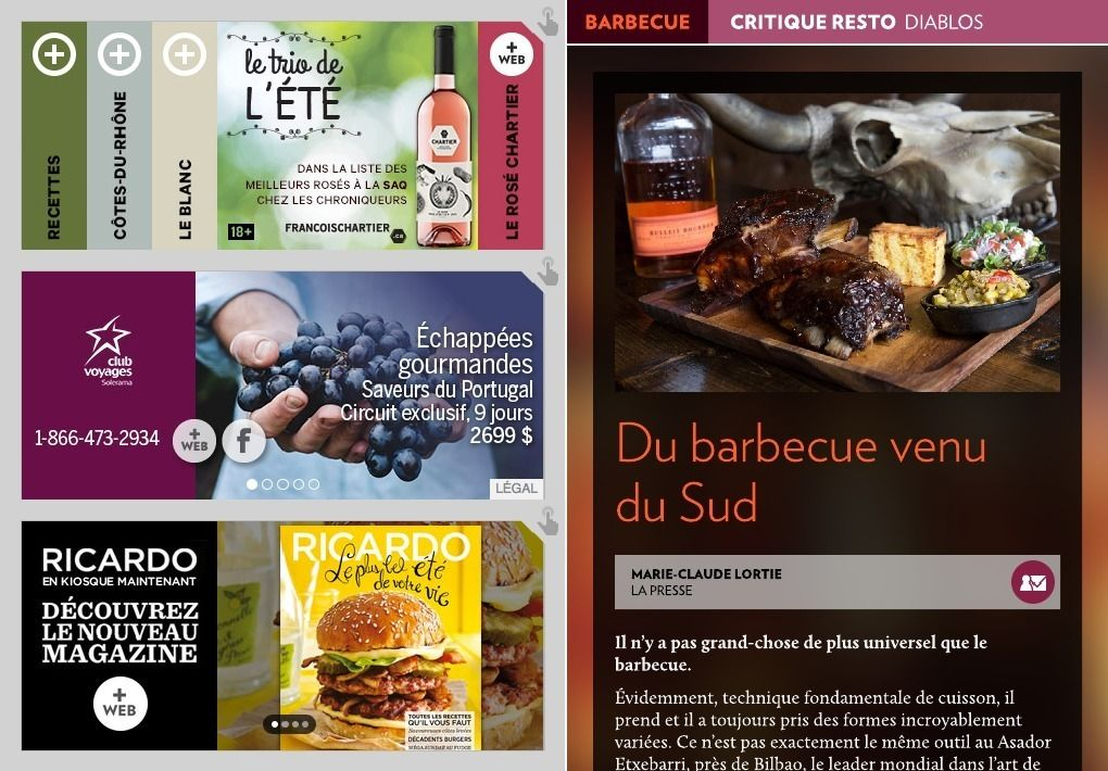 Diablos: du barbecue venu du Sud - La Presse+