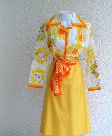 vintage VERA ladybug label cotton long sleeve by VeraseraVintage, $30.00