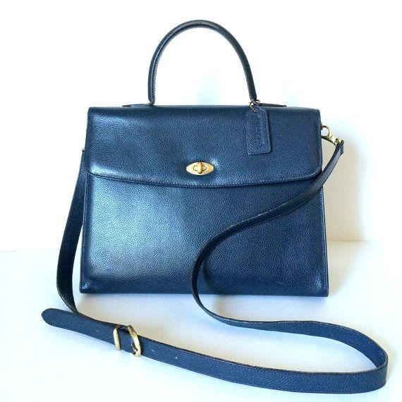 be62e68111d ... vintage Coach Madison Copley Kelly bag Coach by pascalvintage ...