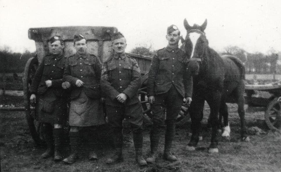 Company Quarter Master Sergeants 7th Battalion Argyll And Sutherland Highlanders 1915 World War I War Of The Worlds Master Sergeant