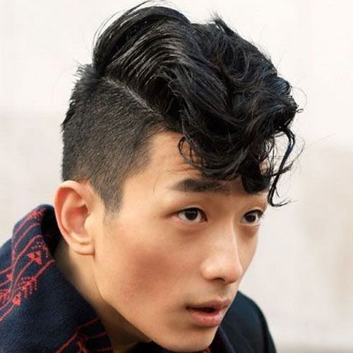 Asian bun hairstyle