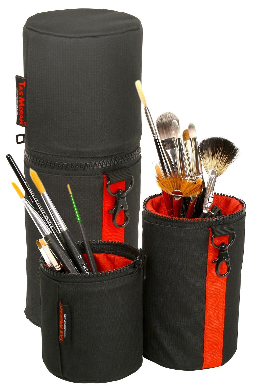 Cylinder Makeup Brush and Tool Case Makeup case