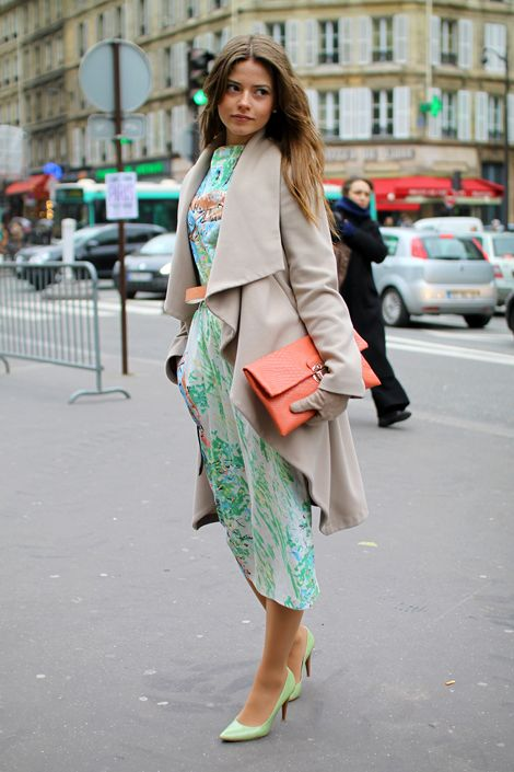 simple and chic #pastel outfit