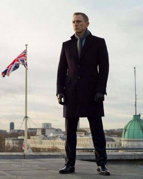 2012年映画『007 スカイフォール』 ダニエル・クレイグ 写真3枚_画像