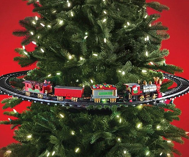 In Tree Christmas Train Christmas Tree Train Christmas Train Harry Potter Christmas Decorations