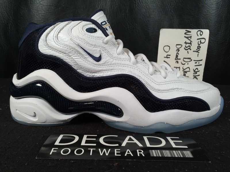 official photos aadf2 f9537 NIKE AIR ZOOM FLIGHT 96 PENNY HARDAWAY OLYMPIC 8-10 WHITE NAVY USA 884491  103   Clothing, Shoes   Accessories, Men s Shoes, Athletic   eBay!