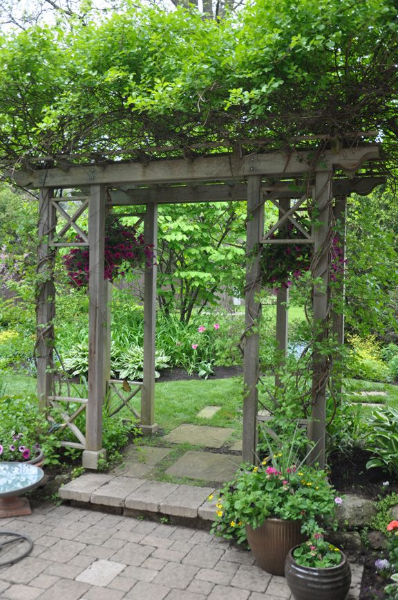 Not everyone has the land available to create a grand entrance to their back garden.     If you live in a suburban community, i...