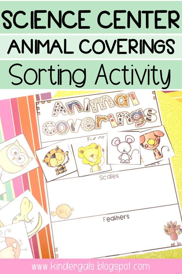 Body Covering Of Animals Worksheets For Kindergarten