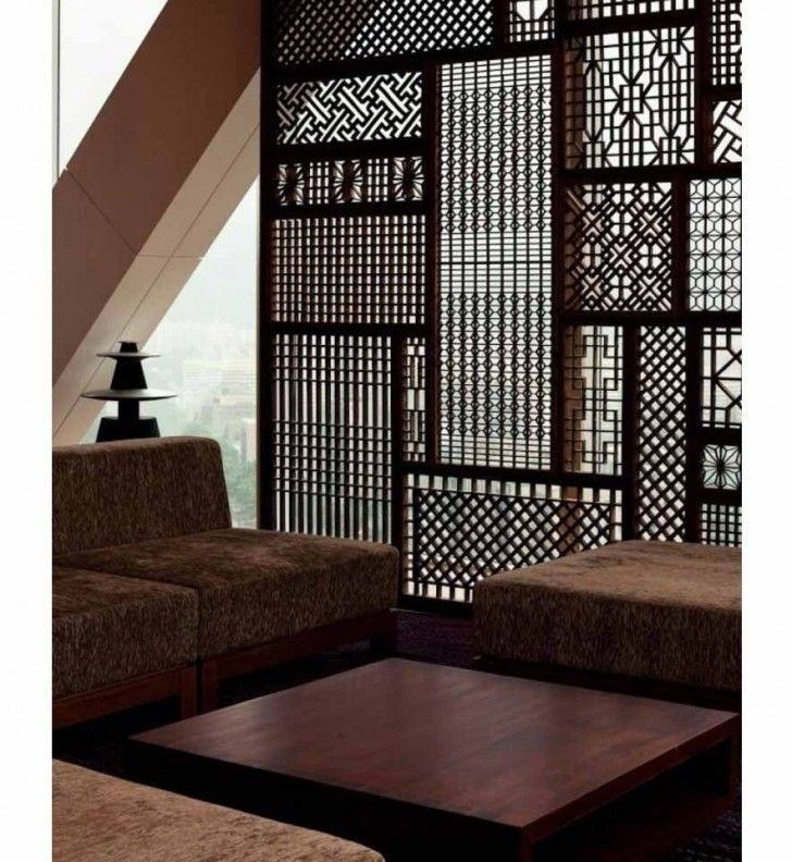 Japanese Bamboo Partition