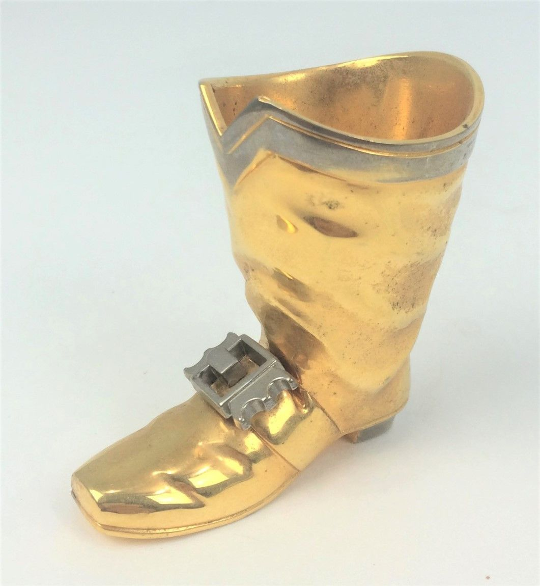 Brass Boot w/ Silver Buckle