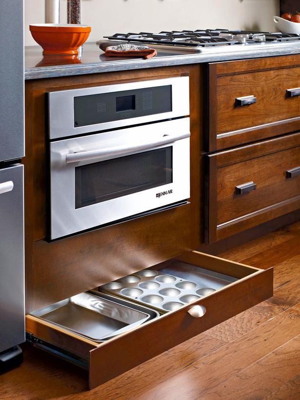 29 Clever Ways to Keep Your Kitchen Organized | Kitchen cabinet ...