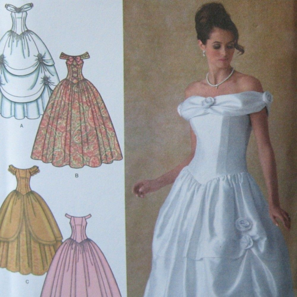 Simplicity pattern 4269 Disney\'s Belle costume or special occasion ...