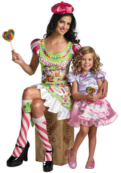 Candyland costumes \u003c3 PenyaDS KID Candy Land Party Pinterest - mother daughter halloween costume ideas
