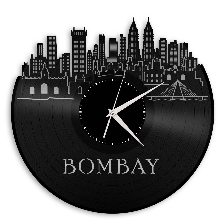 Bombay Skyline India Travel Gift Idea Indian Cityscape Decoration