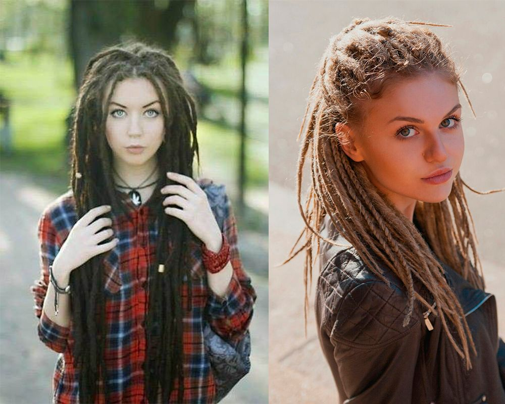 Dredlocks Hairstyles Womens Hairstyles 2017 Women Dreads Hair Trends