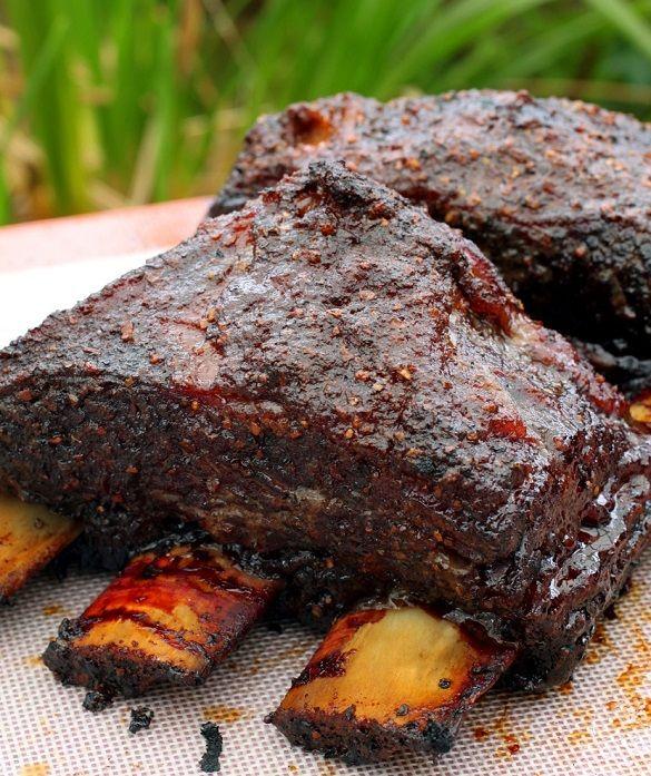 Barbecue Beef Short Ribs Recipe Beef Short Ribs Smoked Food Recipes Beef Short Rib Recipes