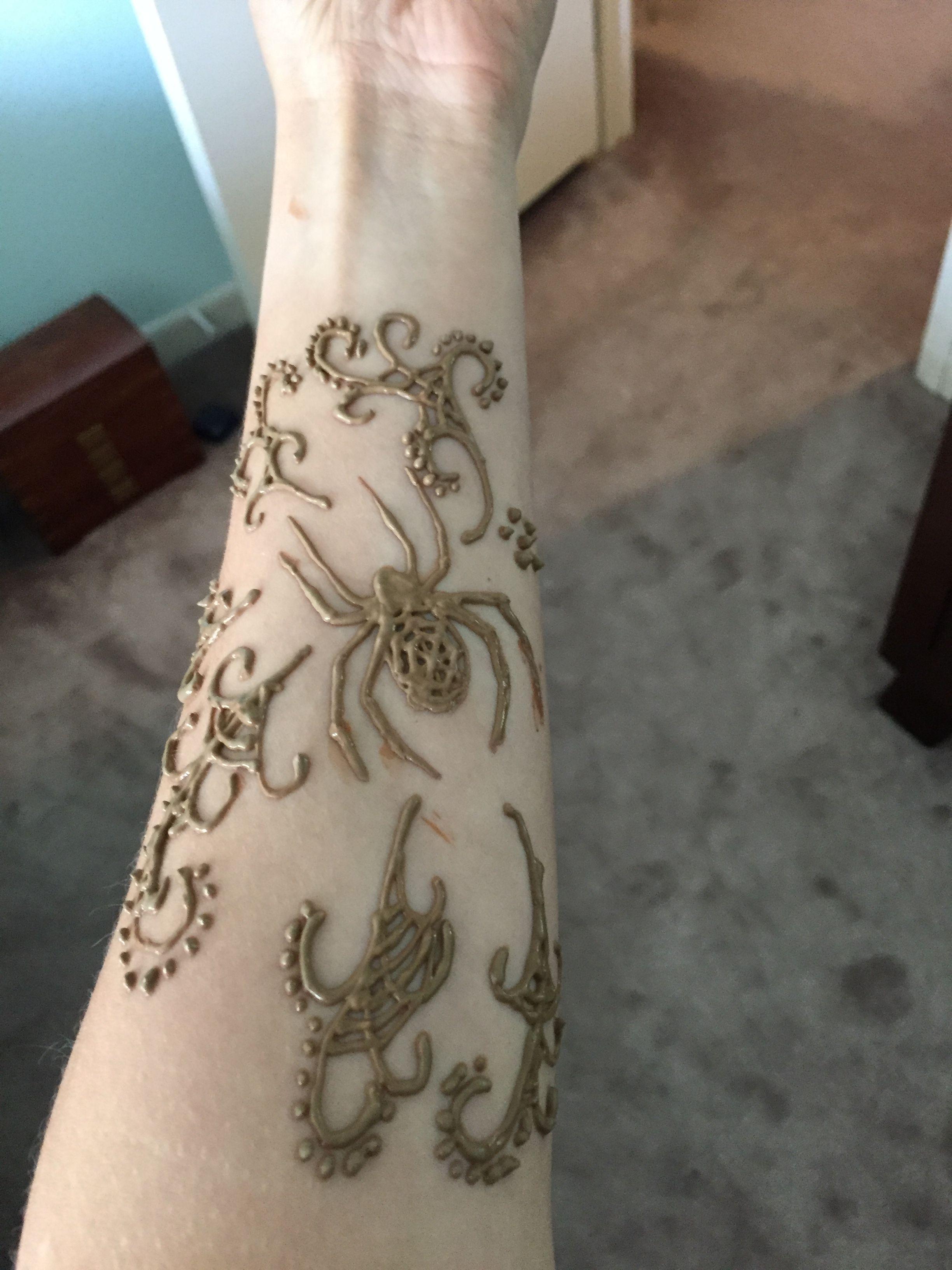 Halloween Henna Henna Tattoo Henna Designs Henna Tattoo Designs