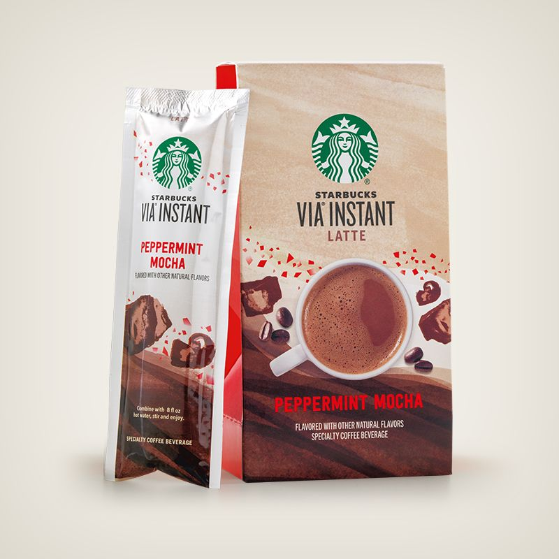 Starbucks® Peppermint Mocha Caffè Latte