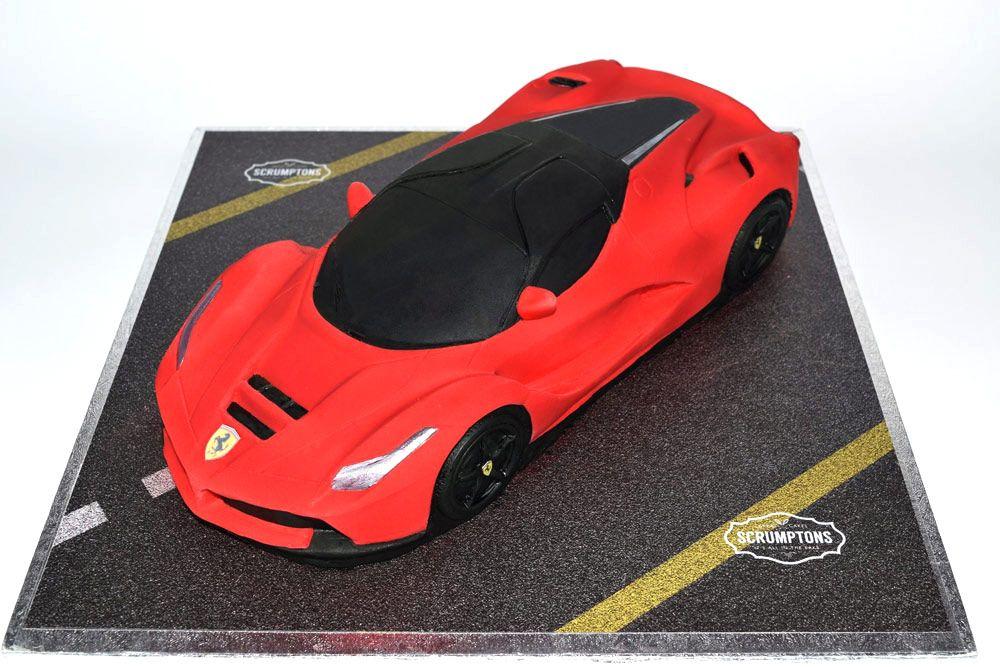 La Ferrari Car Cake With Images Car Cake Ferrari Cake Cars