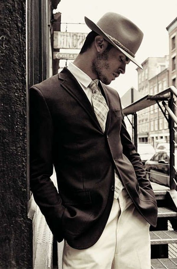 20 Old School Men's Suit Looks to Follow in 2016 #men'ssuits