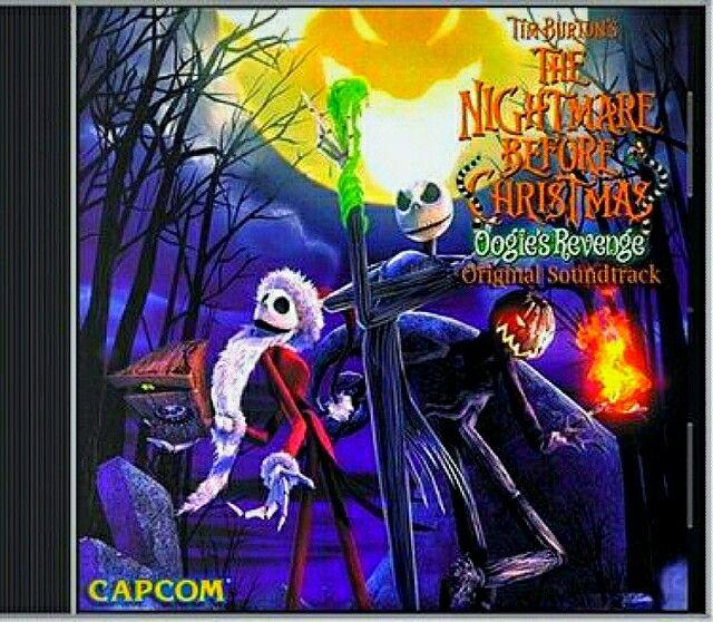 Tim Burton The Nightmare Before Christmas Oogie's Revenge ...
