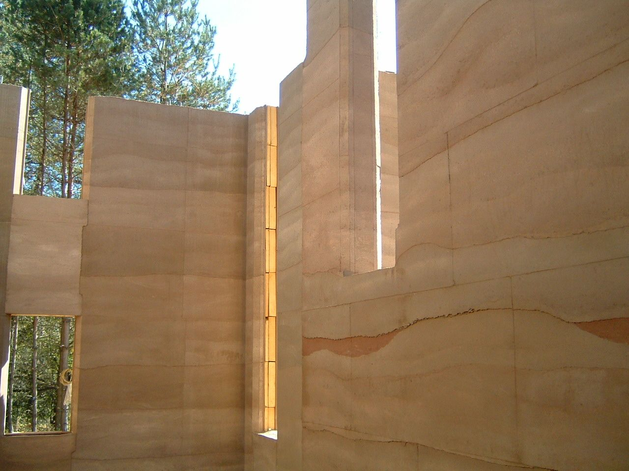 Rammed Earth Archives With Images Rammed Earth Wall Rammed