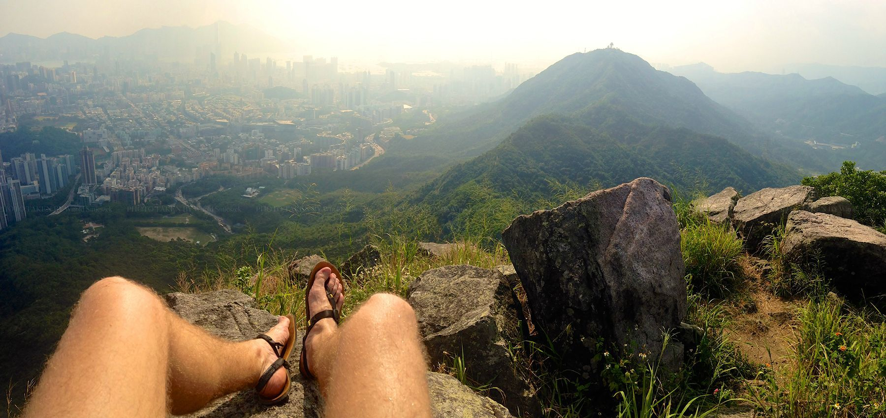 Only in Hong Kong can you hike along a beautiful trail and look at the very centre of the city at the same time. - Imgur