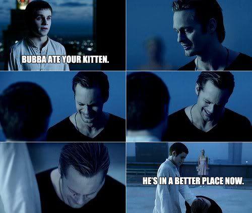 True Blood, one of the saddest scenes til I saw this version!