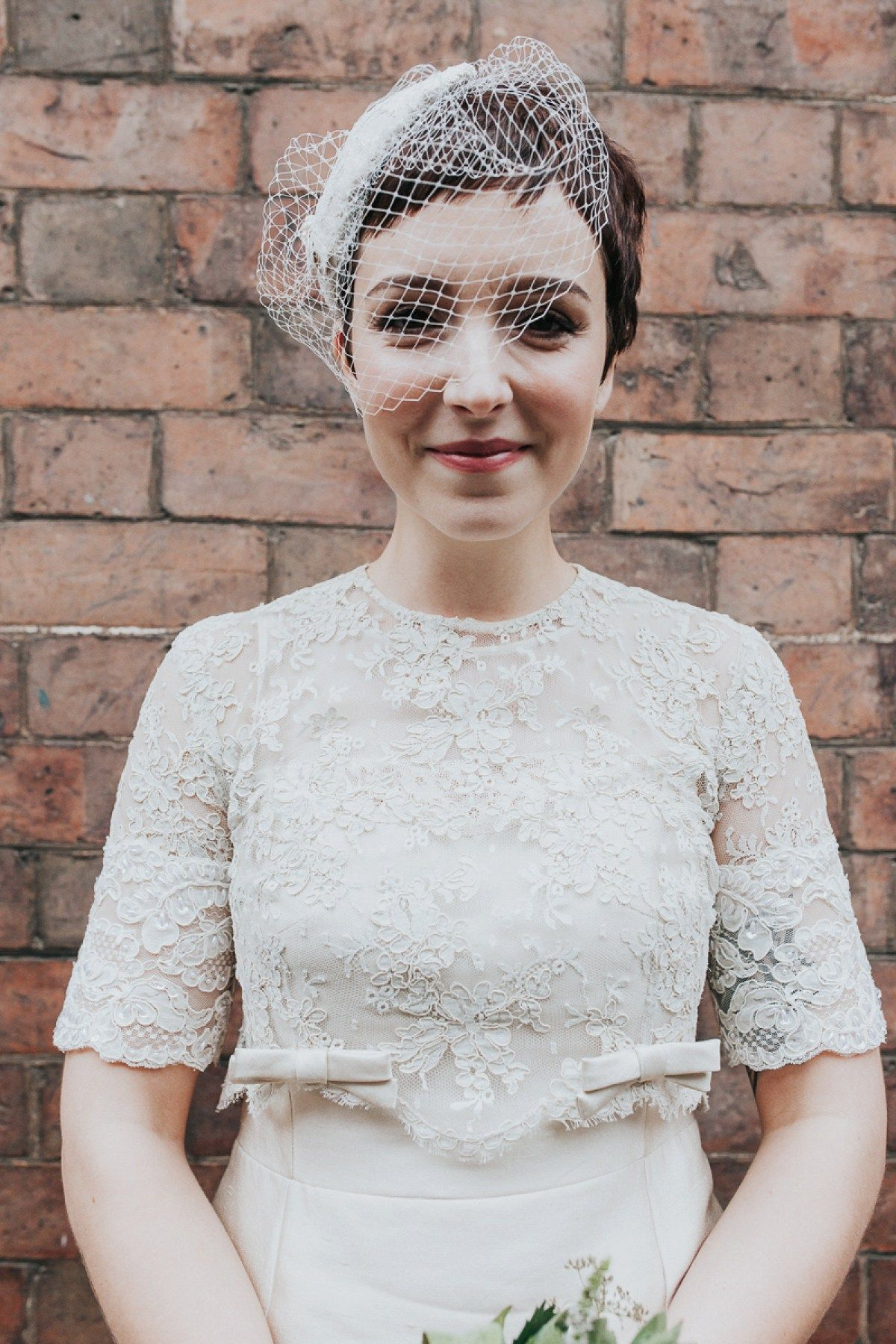 A Short Chic Vintage Dress For A 1960 S Inspired Bride Love My Dress Uk Wedding Blog Wedding Directory Wedding Veils Short Short Wedding Dress 1960 Wedding Dress [ 1800 x 1200 Pixel ]